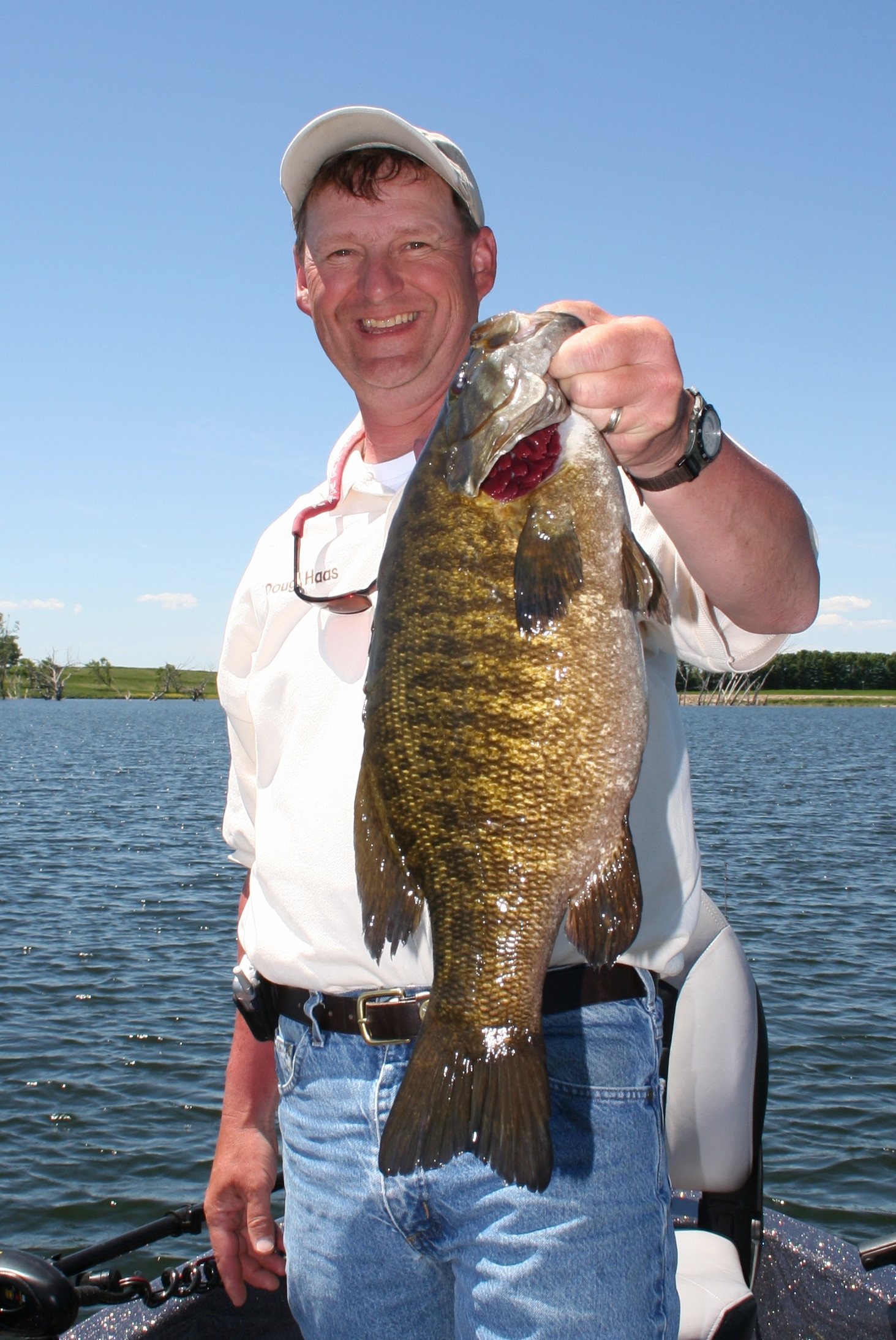 Doug Haas, Smalmouth Bass