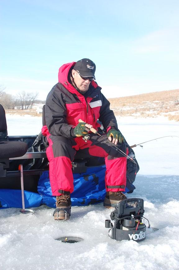 Gary- Ice fishing Dixon County