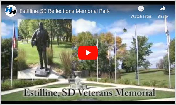 Estelline, SD Reflections Memorial Park