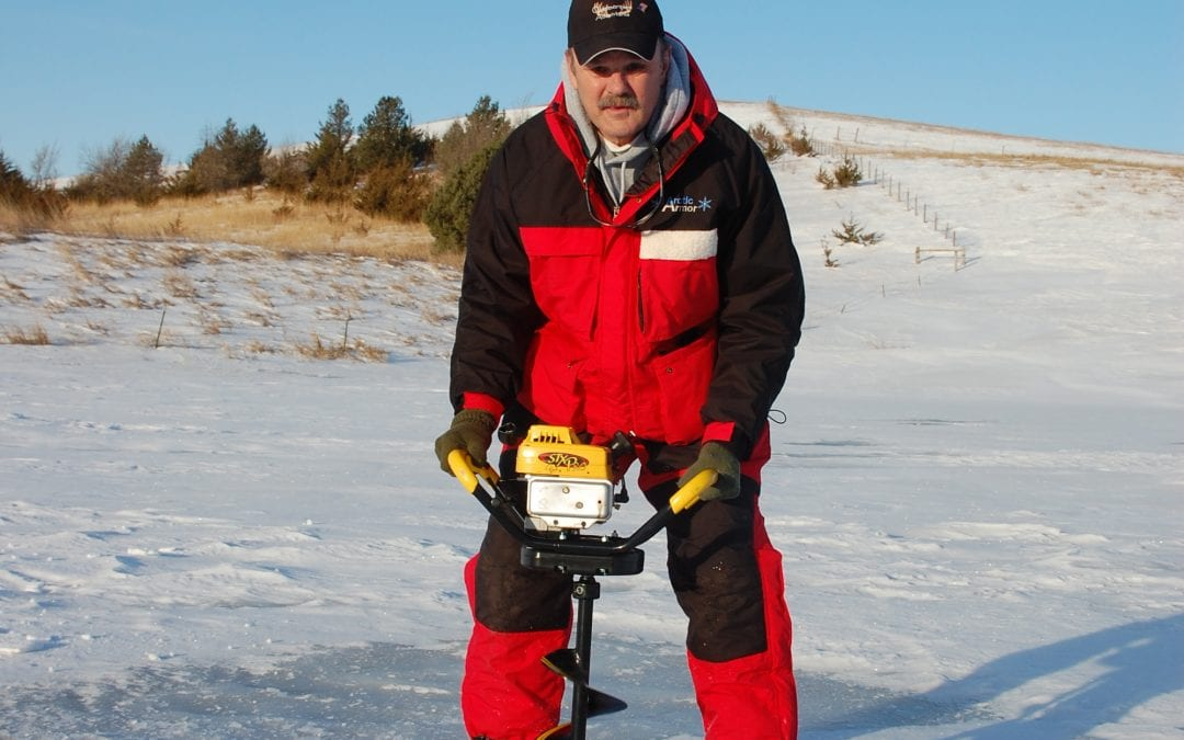 Early Season Ice Fishing,  Think Safety First.