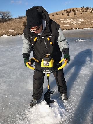 Early Season Ice Fishing & & Early Ice