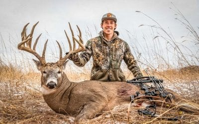214″ Booner Buck Taken on  Public Land in Minnesota