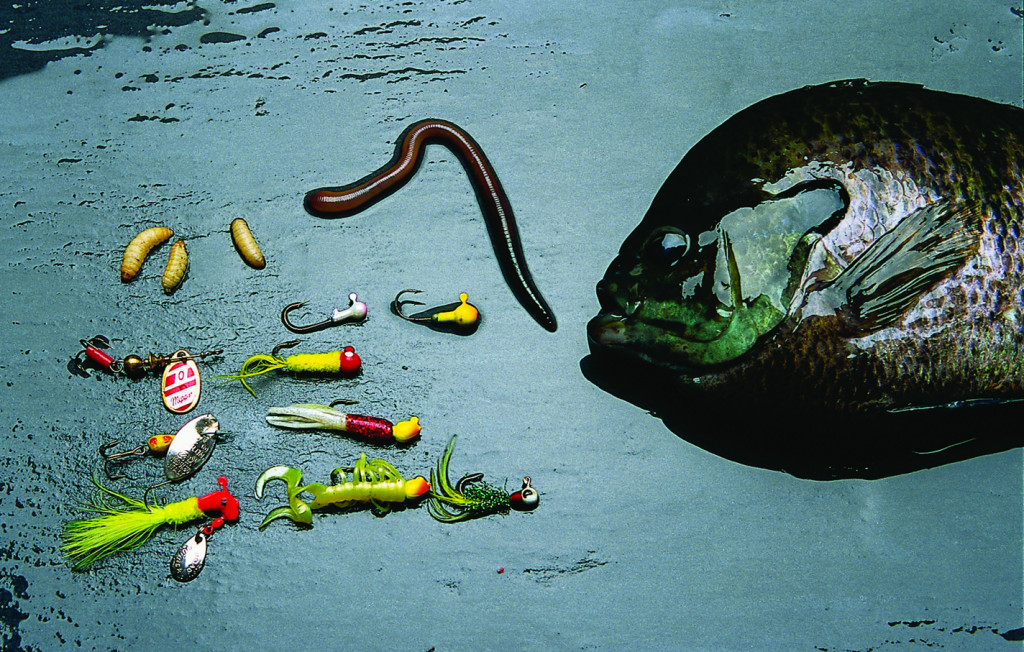 With fishing bait, you don't always have to keep it real By Jerry Kane Nebraska Game and Parks Commission