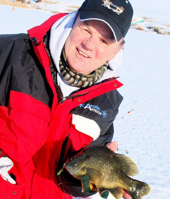 Ice Fishing  Safety     by Gary Howey
