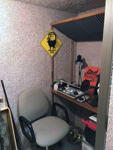Office radio part of the sound room