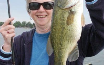 Bass Fishing  By Gary Howey