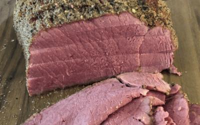 High Mountain Seasoning's Venison Pastrami