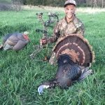 Josh Anderson with first NE Archery Spring turkey